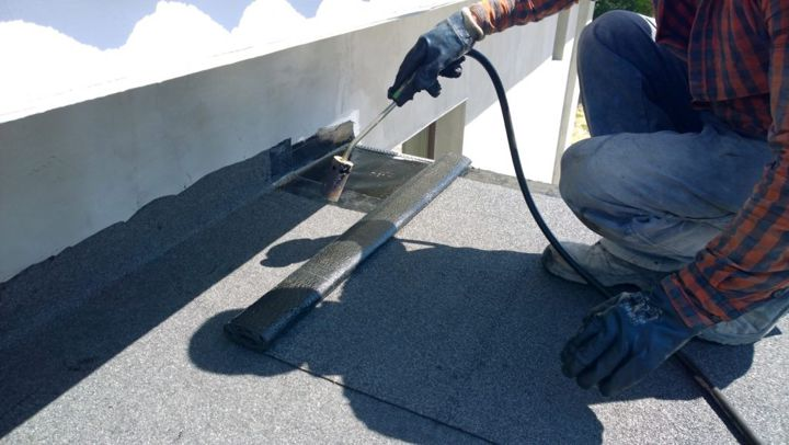 rubberbond flat roofing