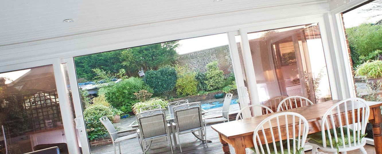 upvc sliding doors to garden